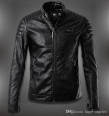 2019 men s pu leather jacket germany brand skull design slim motorcycle men leather jackets jaqueta de couro moda casual homens 20 from happy angelet1