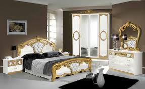 Italian Bedroom Set sibilla white gold italian bedroom set 4515 by guidejewelry.us