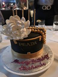 Prada Birthday Cake That Was Made For Me By Gluten Free Gourmet Yelp