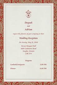 wedding reception card reception samples reception printed text reception printed samples