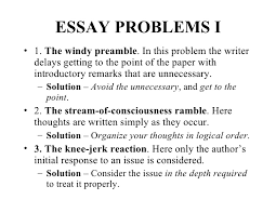 critical thinking and clear writing essay