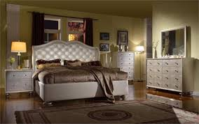 Pearl White Crystal Queen Bedroom Set Empire Furniture Home Brilliant  Within ...