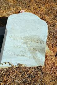 Jennie Vaughn (1878-1910) - Find A Grave Memorial