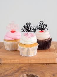 Birthday Cupcake Toppers Happy Birthday Birthday Etsy