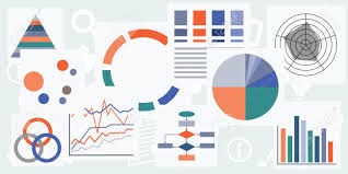 Different Charts Vector Illustration Of Different Charts Graphs And Tables For