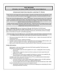 Technology Sales Resume Examples | Resume Template
