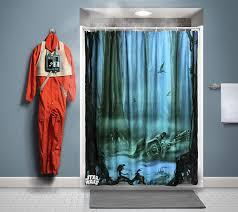 star wars bah shower curtain