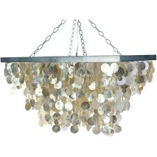 champagne colored chandelier rectangular seashell rain drop pendant lamp champagne champagne colored chandelier earrings