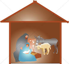 nativity stable clipart.  Nativity Nativity Scene With Animals In Stable Clipart P
