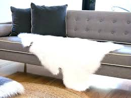 faux sheepskin rug fur area large canada