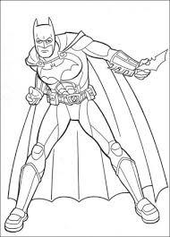 Batman Klaar Voor De Aanval Kleurplaten