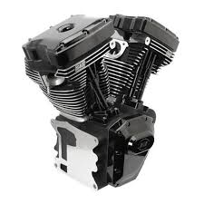 T143 Black Edition Longblock Engine for Select 1999-'06 HD® Twin Cam ...