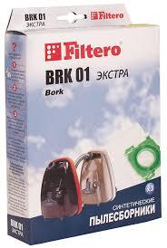 Мешок-<b>пылесборник Filtero BRK</b> 01 Экстра, для Bork ...