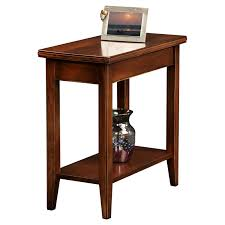 leick laurent narrow chairside end table  hayneedle