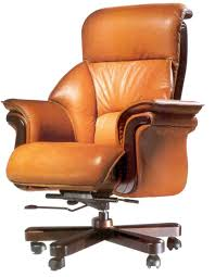 orange office furniture. Office Chairs Ideas With Brown Leather Executive Chair Swivel Model And Wooden Base Orange Furniture