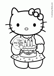 Small Picture Coloring Pages Free Printable Hello Kitty Coloring Pages