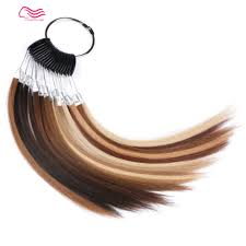 Wig Color Chart Us 40 0 100 European Hair Color Ring Color Chart For Kosher Wig Jewish Wigs Color Ring Color Chart Free Shipping In Hair Color Rings From