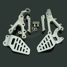 <b>Motorcycle Footrests Front Foot</b> Pegs Pedals Rest Footpegs For ...
