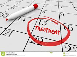 Appointment Calander Treatment Medical Health Care Appointment Calendar Stock
