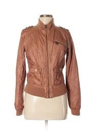 pin it xhilaration women faux leather jacket size m