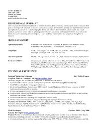 Restaurant Resume Example Restaurant skills resume examples best of summary qualifications 50
