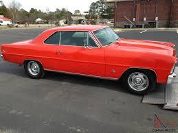 66 Chevy II Nova 2 Dr Hardtop in Hugger Orange 327 Auto Straight Body