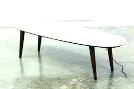 target marble coffee table mid century vintage modern