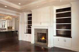 Over The Fireplace Tv Cabinet I Like The Contrasting Color Of The Wood At The Back Of The