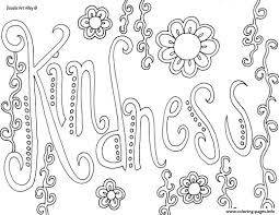 Kindness Coloring Pages Printable Fun Time