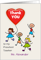 Thank You Cards for Teacher from Greeting Card Universe via Relatably.com