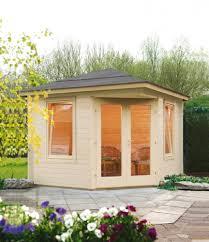 5 Eck Gartenhaus 280x280cm Holzhaus Bausatz Einzeltür Mit Fenster