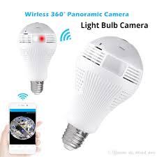 Mini Wifi Ip Camera Wireless Panoramic Home Security Cctv Fisheye