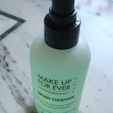 make up for ever brush cleanser review