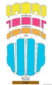 Adler Theatre Seating Chart