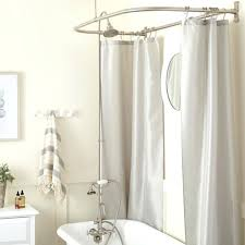 convert clawfoot tub to shower tub shower conversion kit d style shower ring with hand shower