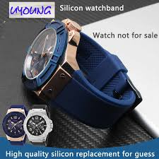 multi toned diamante chronograph round watch three handle movement silicon strap stainless steel case water resistant 10atm numberic