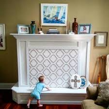 Brick Fireplace Baby Proofing  Fireplace Design And IdeasBaby Proof Fireplace
