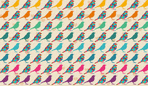 Patterned Best Patterned Birds Wall Mural Patterned Wallpapers Custom Made By