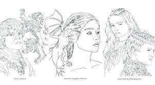 Game Of Thrones Coloring Book Target Also Game Of Thrones Coloring