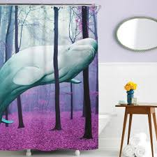 awesome shower curtain. Beluga Whale Shower Curtain Awesome