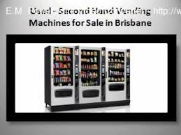 Second Hand Vending Machine Magnificent Used Second Hand Vending Machines For Sale In Brisbane The