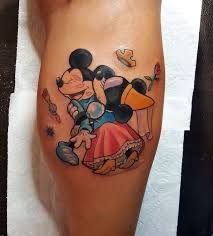 65 Classic Mickey And Minnie Mouse Tattoo Ideas Preserve The Magic