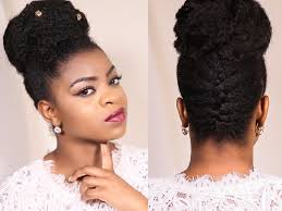 French Braid Updos For Natural Hair