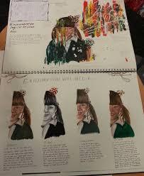 gcse art book layout 12 best ib art inspiration images on