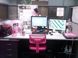 office cubicle decor ideas. Office Cubicle Decor Ideas Pinterest Girls Work Idea With Photos Plus Notice Board And Pink Computer Chair