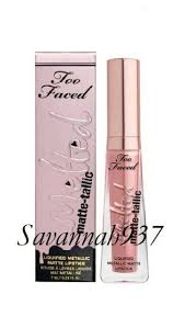 too faced melted matte tallic liquified