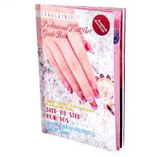 Nail art Gel Design English Guide DIY Book New Step by Step ...