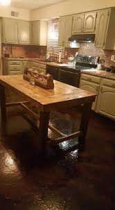paper bag countertops sealing concrete with polyurethane elegant paper bag floors a tutorial domestic imperfection of source amazing diy kitchen remodel