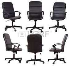 office furniture black office chair isolated on white background black and white office furniture