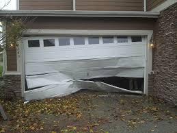 garage door dent repairDented Garage Door  Wageuzi